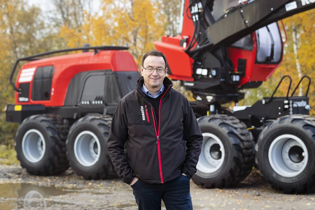 Bernd Rauser, Neuer Global After-Sales-Manager bei Komatsu Forest